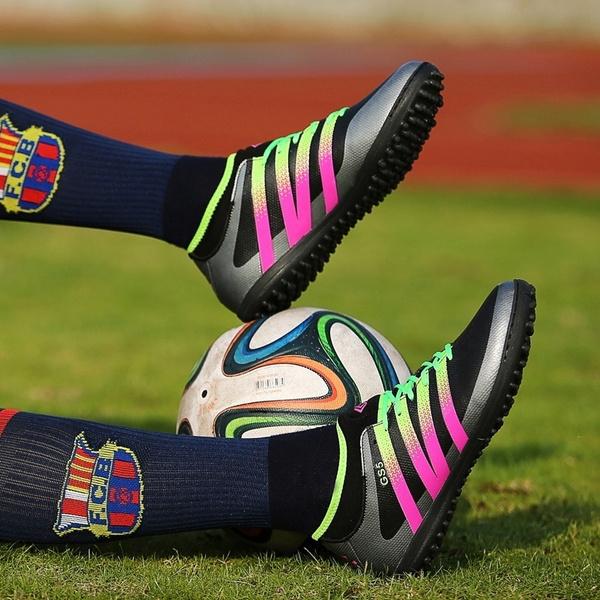 203e83590 Football Shoes 2018 Kids Futsal Shoes for Sock Football Boots Boys ...