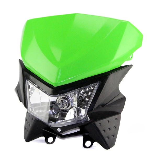 Motorcycle Pit Dirt Bike Street fighter Fairing Headlamp Headlight Front Light