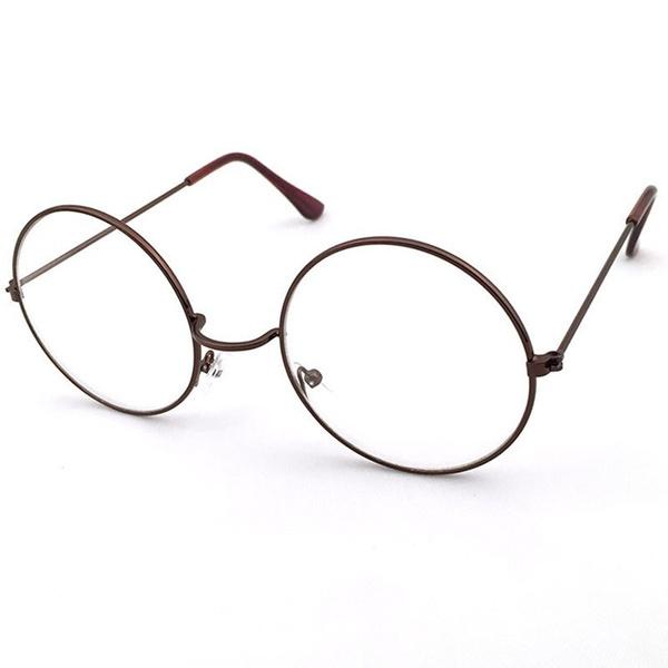Wish | Vintage round Glasses Men Frame Eyewear Clear Glasses Women ...