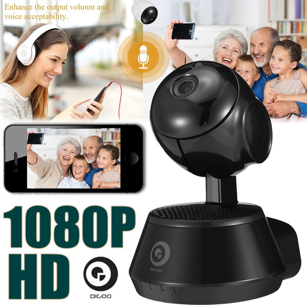 Digoo DG-M1Z 1080P FHD Super Clear CCTV Wireless WIFI IP Camera IR Motion  Detection Night Vision Two Way Audio Smart Home Security Video Recorder