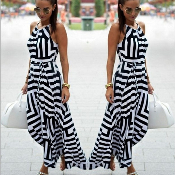 47767c137a48a Women Sexy Summer Dress Boho Maxi Long Evening Party Dress Beach Dress  Sundress