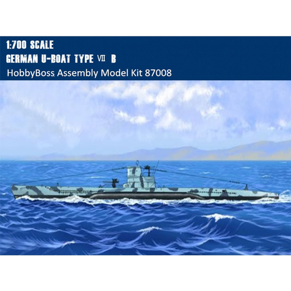 Hobby Boss 1//700 U-Boat Type VII B # 87008