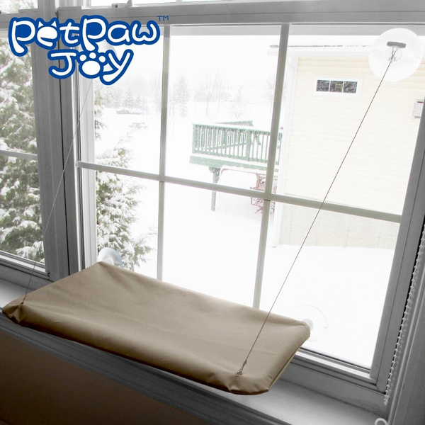 Groovy Sunny Seat Cat Bed Cat Window Perch Window Seat Suction Cups Space Saving Cat Hammock Pet Resting Seat Safety Cat Shelves Providing All Around 3600 Dailytribune Chair Design For Home Dailytribuneorg