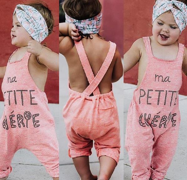 Summer, Infant, jumpsuit, Outfits