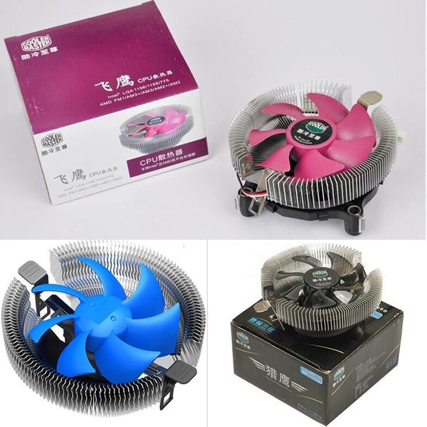 Cooler Master Air Cooler Desktop Computer Cpu Radiator Cooling Fan CPU 90mm  Fan for Intel LGA775/1150/1155/1156 for AMD FM1/AM3+/AM3/ AM2+/AM2