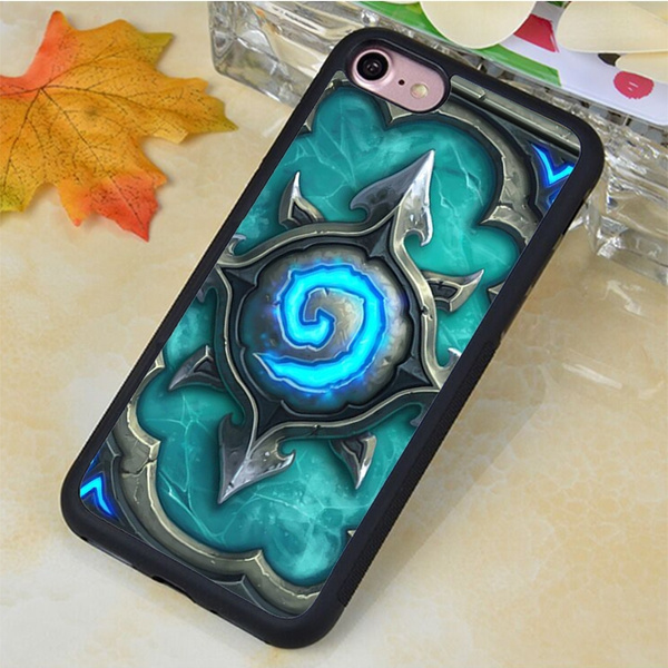 buy online f3221 9660a Hearthstone Symbol Soft TPU Phone Case For IPhone 4 4S 5 5C 5S 6 6S 6Plus  6SPlus 7 7Plus For Samsung Series Case