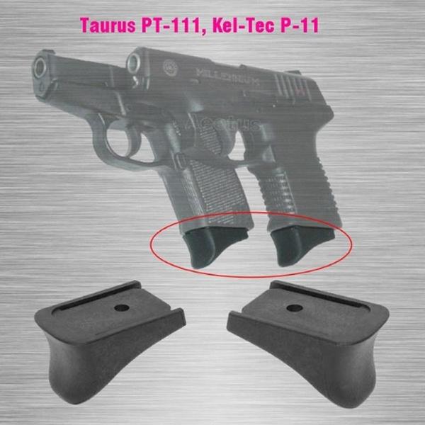 Pearce Grip PG-11 Taurus PT111 Kel-Tec P11 Magazine Extension 9mm  10/12-Round