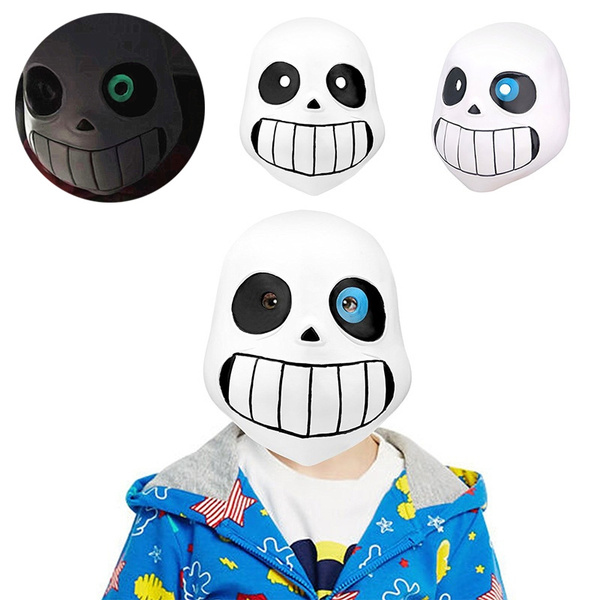 Sans Papyrus Latex Head Mask Halloween Party Novelty Undertale Costume For  Kids Adult