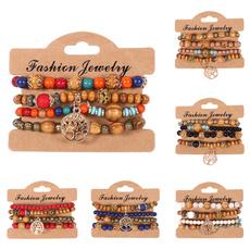 hollowour, Beaded Bracelets, bohobracelet, multi-layer bracelet