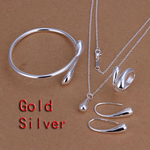 water, openingbangle, Hooks, 925 silver