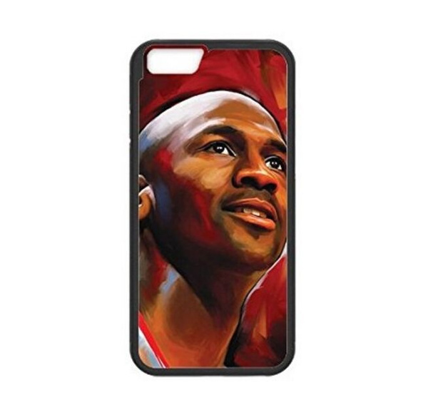 quality design 8b816 8d9d2 Superstar Michael Jordan iPhone 6s case mobile phone case for iPhone 5s 6