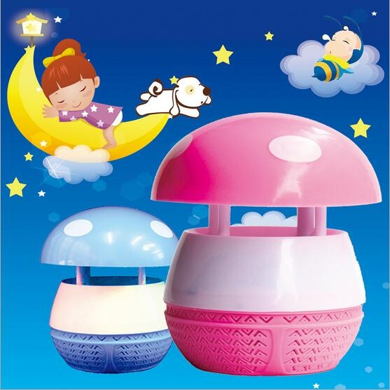 Electronic Household Mosquito Usb Suction Light Machine Radiation Killer Lamp Mute Mushroom Trap Non Catalyst Type D92IEH