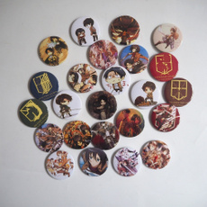 cosplaybuttonbadge, animebadge, Cosplay, Pins