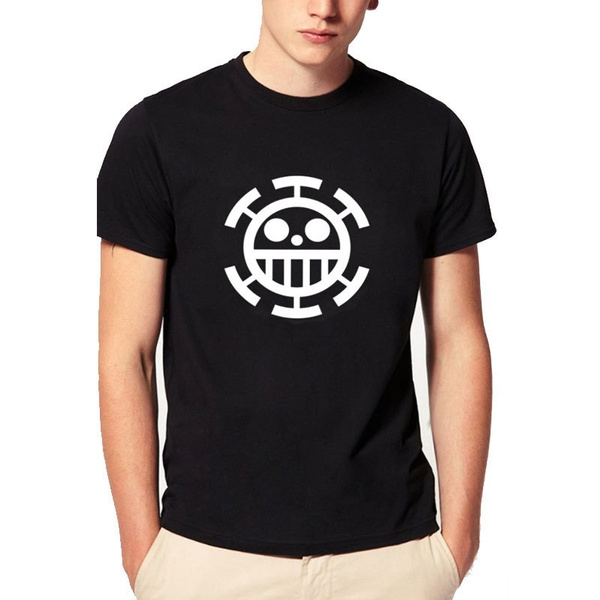 a6baed890 ONE PIECE anime Trafalgar Law T-shirt Men Cosplay Casual Short ...