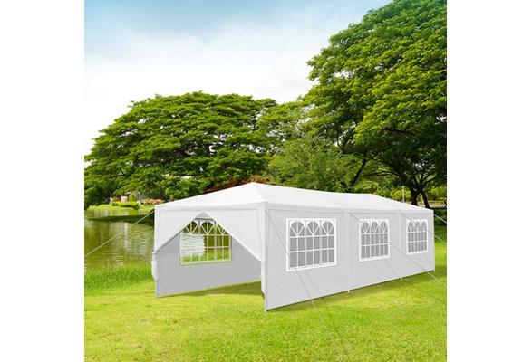 10'x10'(3Mx3M) ,10'x20'(3Mx6M) ,10'x30'(3Mx9M) Party Wedding Outdoor Patio Tent Canopy Heavy duty Gazebo Pavilion Event White