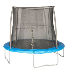 10footskyboundtrampolinewithenclosure, Blues, Outdoor, trampolinewithenclosure10ft