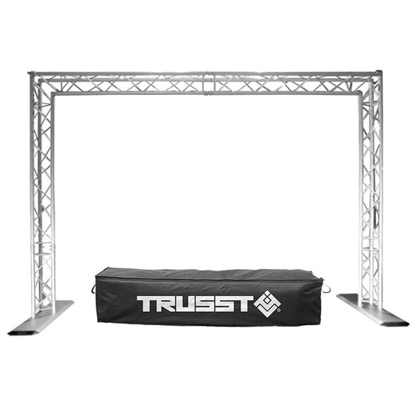 Chauvet Trusst Qt Goal Post Kit Mobile Dj Portable Lighting Truss System W Case