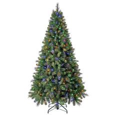 christmastreeprelit, Christmas, christmastreecolorlight, lights