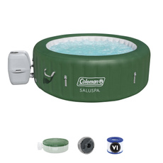 Spa, Tub, inflatableportable6personhottubspa, Inflatable