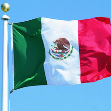 Polyester, Outdoor, mexican, countryflag