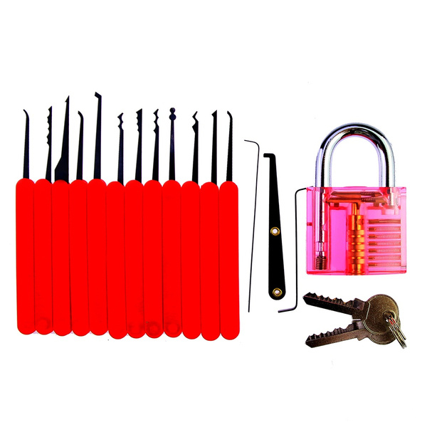 Lock Pick Set Unlock Picks Lockpick Locksmith Tools Lock Picking Padlock