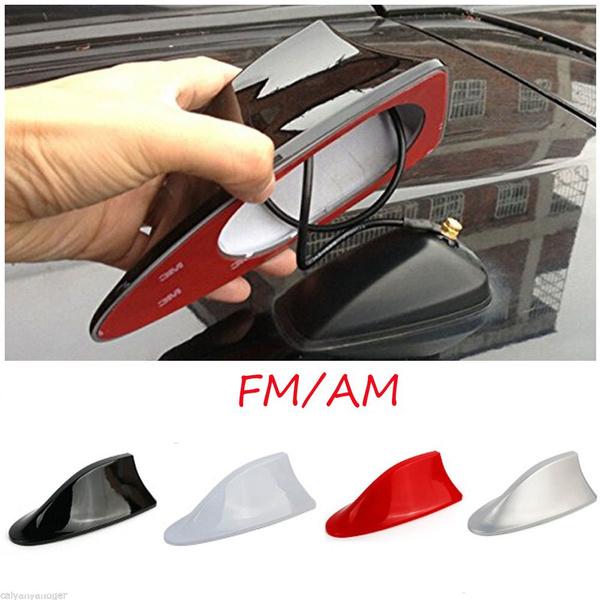 Streamline Auto Exterior Shark Fin Radio Signal Receiver Car Antenna Aerial