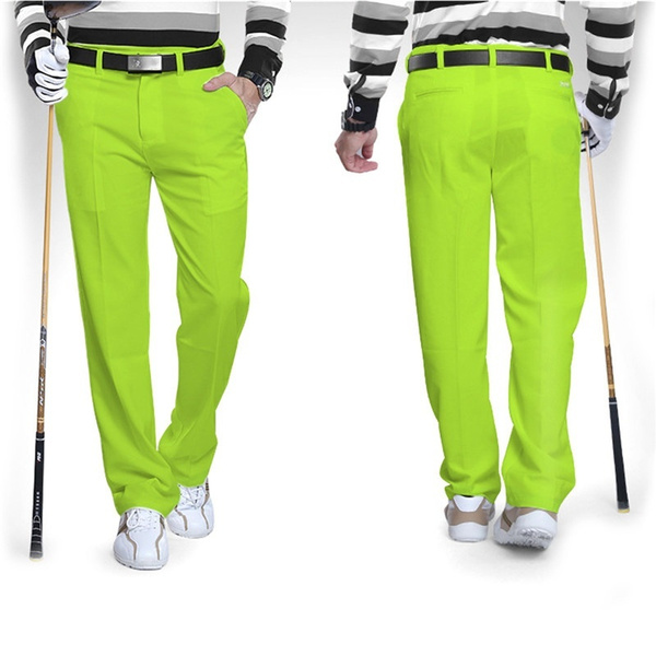 fashionable and attractive package how to get how to find PGM Men's Golf Pants Golf Clothes Golf Trousers for Men Quick Dry  Breathable Golf Pants for Men 4 Colors XXS-XXXL Outdoor Golf Clothes