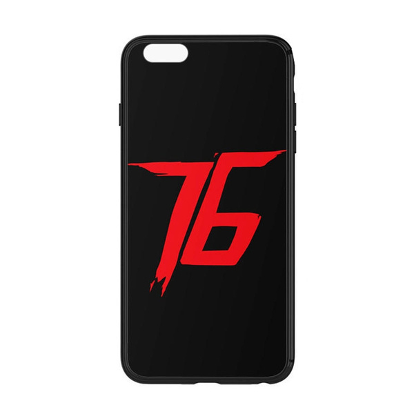 Wish Overwatch Soldier 76 Symbol Graphic Phone Case For Iphone And