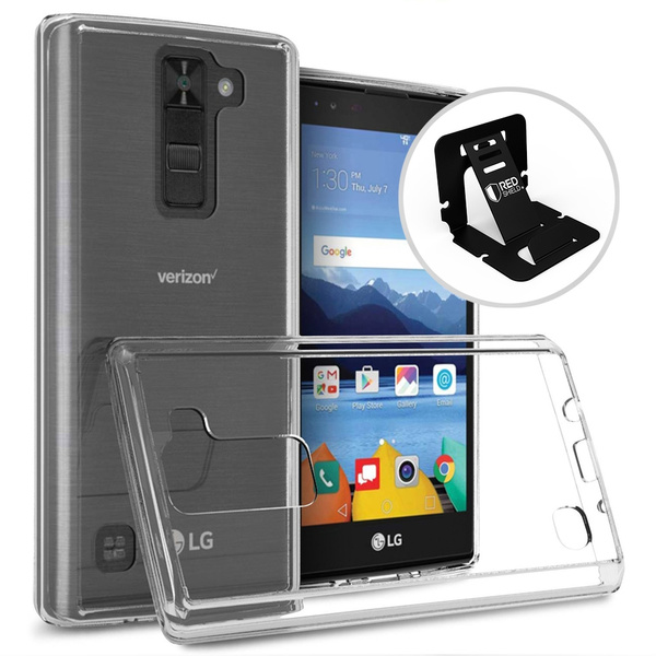 buy online 67974 5b1b2 [LG K8V] Case, REDshield Slim & Flexible Anti-shock Crystal Case