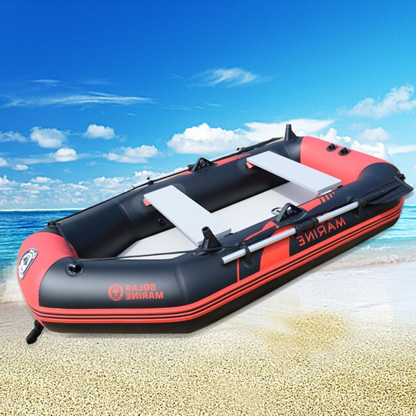 Inflatable Boat with Hard Bottom Fishing Boat Air Cushion Boat Clamp NET  Hovercraft