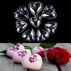 Plastic, Heart, acrylicmold, bomb