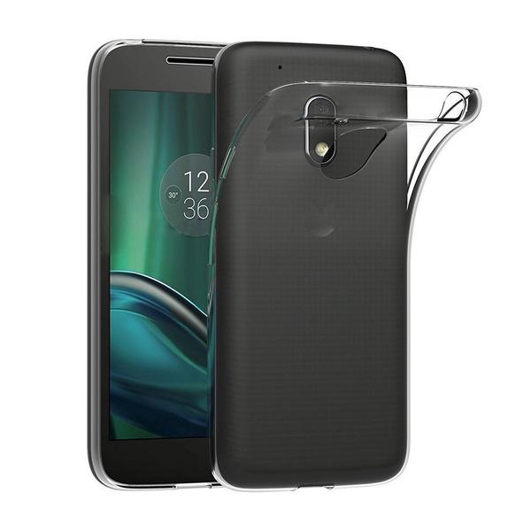 new concept 8842f f4099 Moto G4 Play Case, premium pocket case cover protective transparent clear  soft tpu silicone gel cover bumper delete back for lenovo motorola moto g4  ...