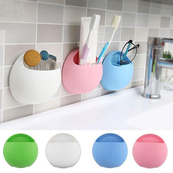 suctioncup, Bathroom, Bathroom Accessories, brushholder