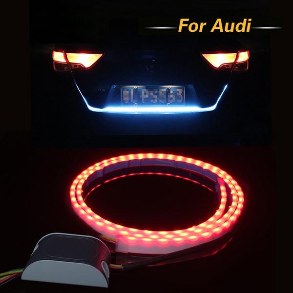 1Set Car LED Rear Trunk Tail Dynamic Streamer Warning Lights DRL For Audi  A4 A3 A6 C5 Q7 Q5 A1 A5 80 TT A8 Q3 A7 R8 RS B6 B7 B8 S3 S4
