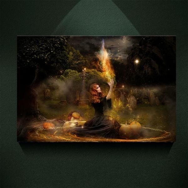 Modern Witch Fantasy Art
