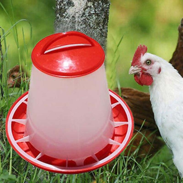 Poultry Chicken Quail Pheasant Automatic Waterer Drinker Food Feeder Pets  Supplies