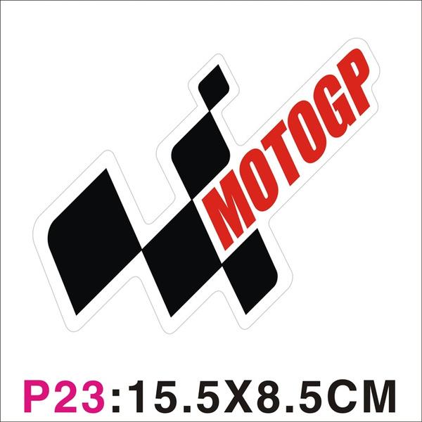 1 2 4 X Reflective Moto Gp Logo Stickers Decals For Motorcycle Motocross Atv Bicycle Dirt Pit Bike Enduro Mtb Mb Ktm Etc