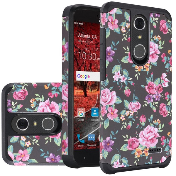 factory price 7fa59 a13b4 For ZTE Blade Spark Phone Rubber Case , ZTE Grand X4 Z956 Case Hard & Soft  Sturdy Durable Hybrid Dual Layer Protective [ Anti Scratch ] Cover