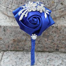 wedding decoration, Jewelry, DIAMOND, blueweddingflower