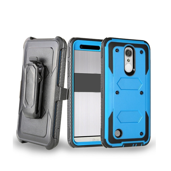 hot sale online 369d8 6ac27 Case for LG-K4 2017 ,LG-Fortune Case,LG-Phoenix 3 Case,LG-Risio 2 Case,  Hard Armor Heavy Duty Protective Phone Cover With Stand Belt Clip Holster