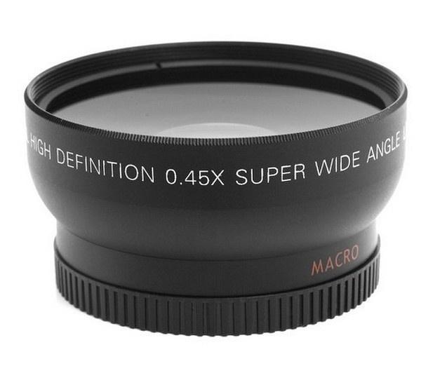 58mm 043x Altura Photo Professional Hd Wide Angle Lens Wmacro