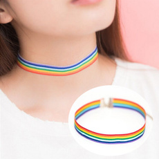 rainbow, Jewelry, Chain, Simple