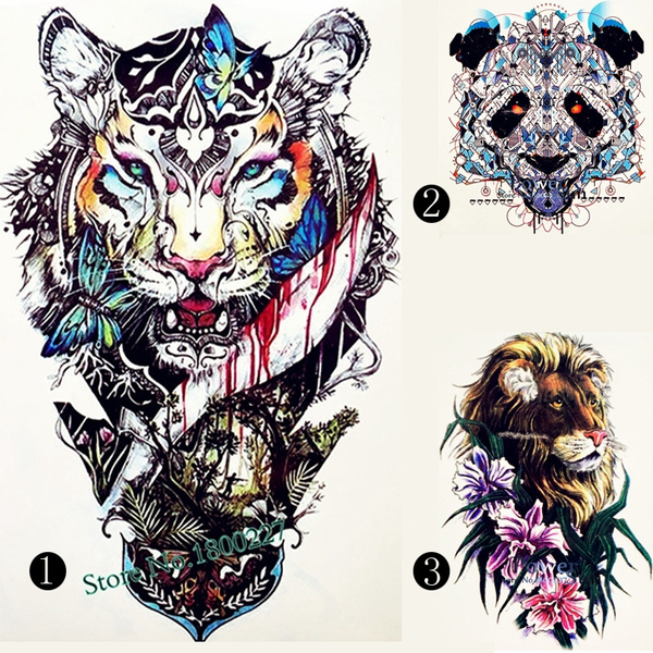 3d Hot Design Temporary Tattoo For Adults Waterproof Tatoo Sticker
