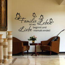 butterfly, Wall Art, Family, Stickers