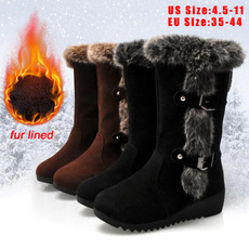 furboot, wedge, midcalfboot, fur