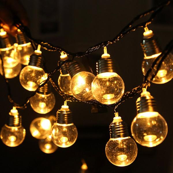 Vintage Bulb Indoor Outdoor Lamp
