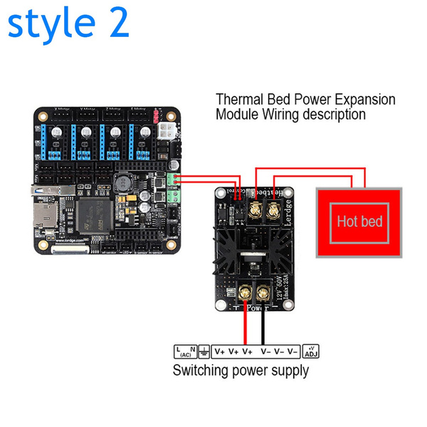 Electronic Components & Supplies 3d Printer Heated Bed Power Module High Current 210a Mosfet Upgrade Ramps 1.4 Active Components
