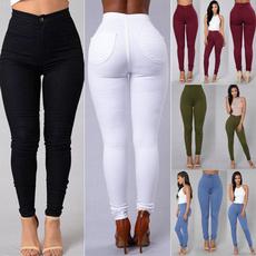 pencil, trousers, high waist, pants
