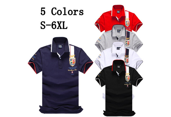 2017 High Quality Men's Short Sleeve Air Force One Polo Shirt T-Shirt Men's Fashion Lapel