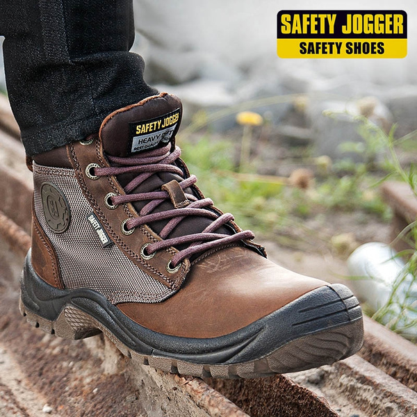f0bdf724932 Safety Jogger S3/SRC Men Steel-Toe Work Boots Waterproof Safety Shoes  Fashion Hiking Boots